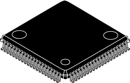 Microchip PIC18F86K90-I/PT, 8bit PIC Microcontroller, PIC18F, 64MHz, 1 kB, 64 kB Flash, 80-Pin TQFP