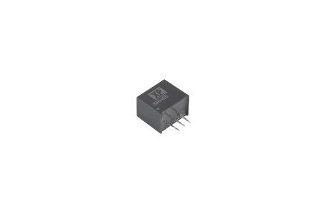 XP Power Through Hole DC-DC Switching Regulator, 3.3V dc Output Voltage, 9 → 72V dc Input Voltage, 500mA Output