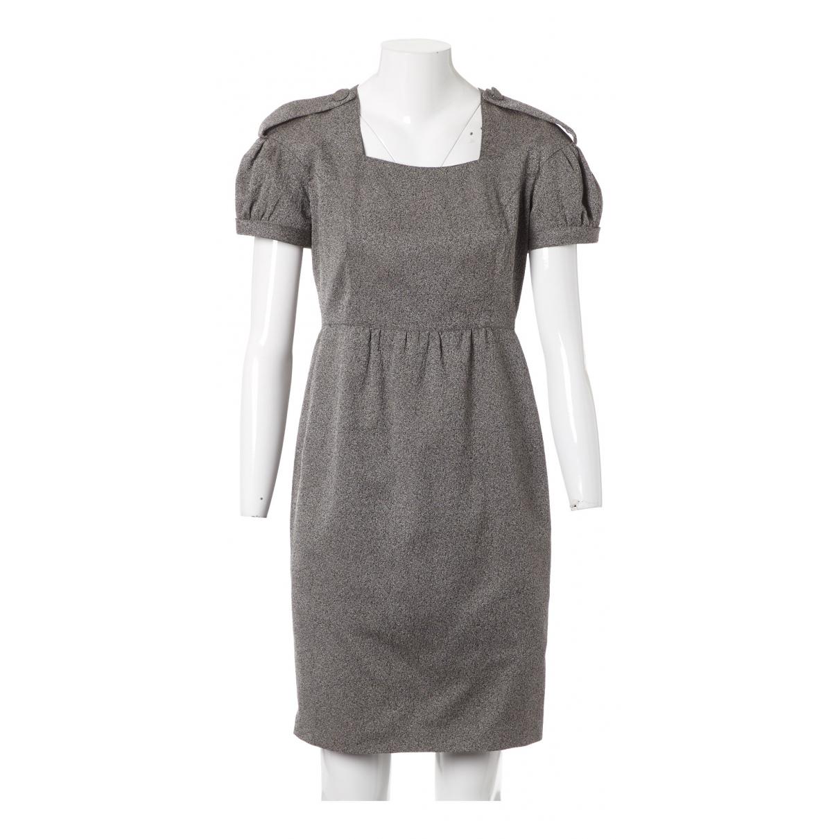 Burberry \N Kleid in  Grau Wolle