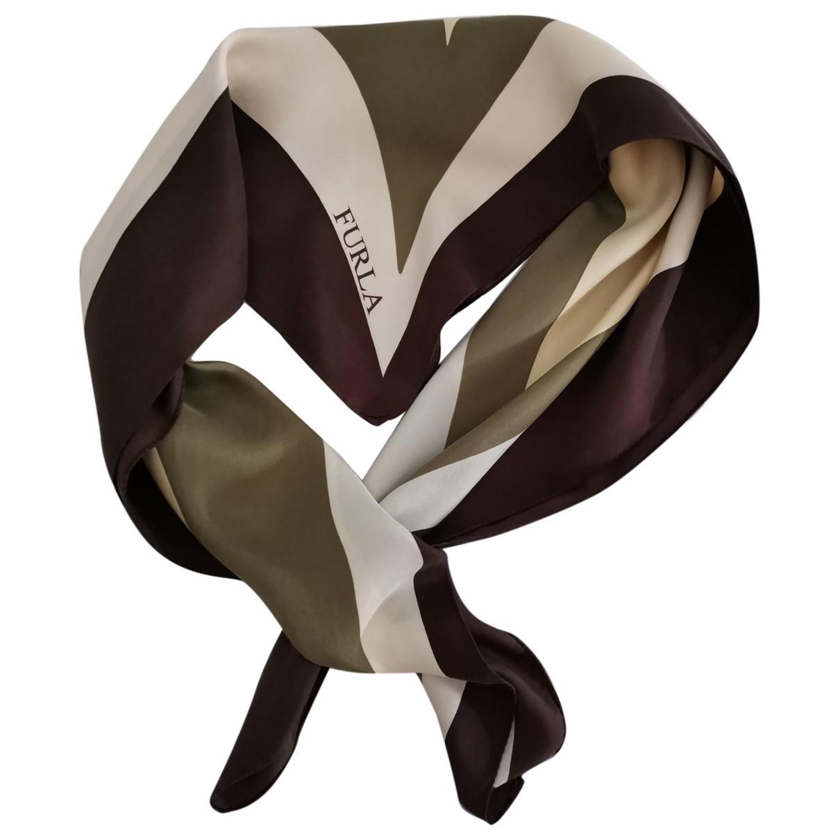Furla \N Multicolour Silk scarf for Women \N
