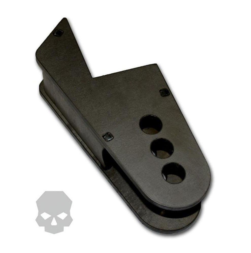 Adjustable Panhard / Tracbar Frame Mount 2.5 Inch With 9/16 Inch Hole Ballistic Fabrication BRK-1055-7