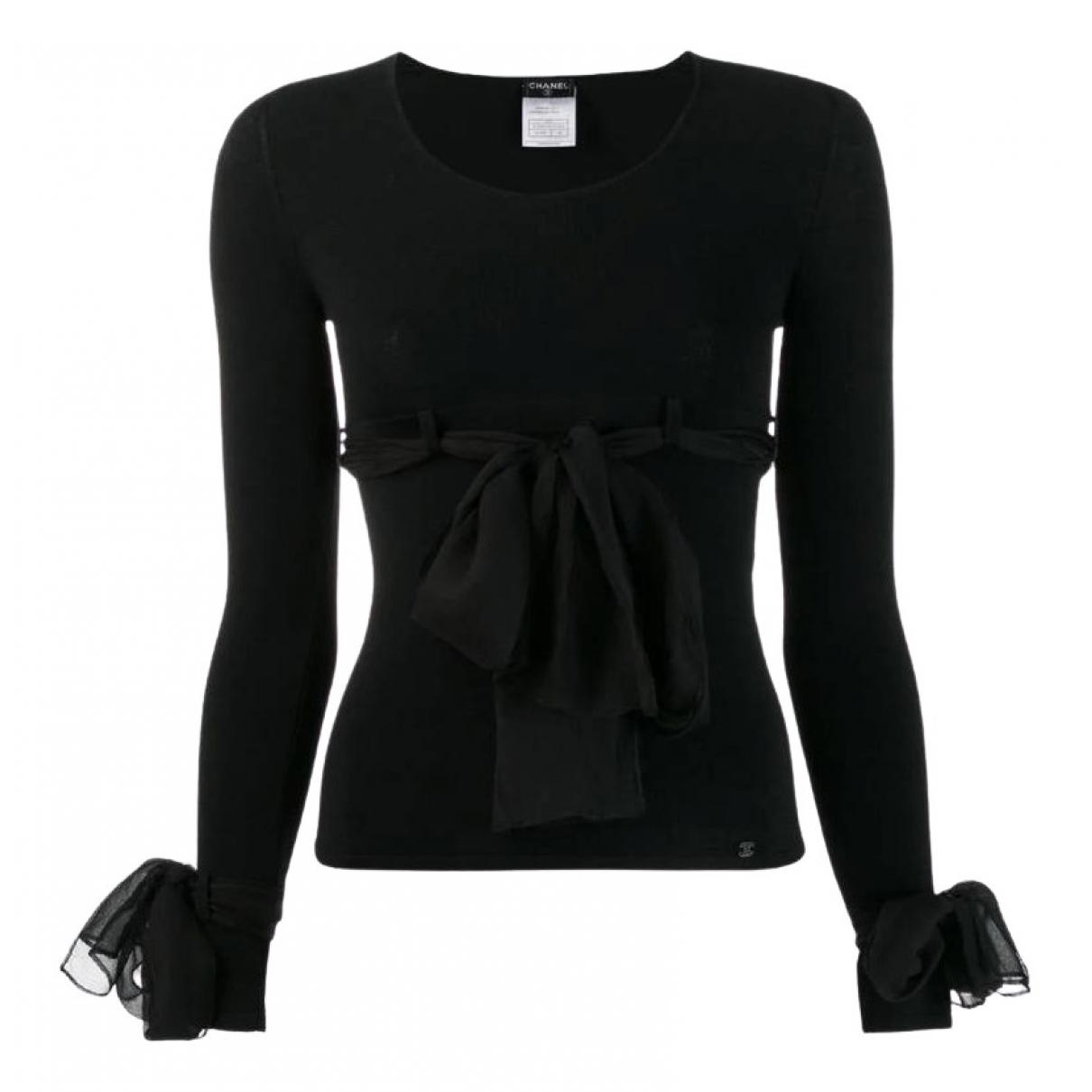 Chanel - Pull   pour femme - noir