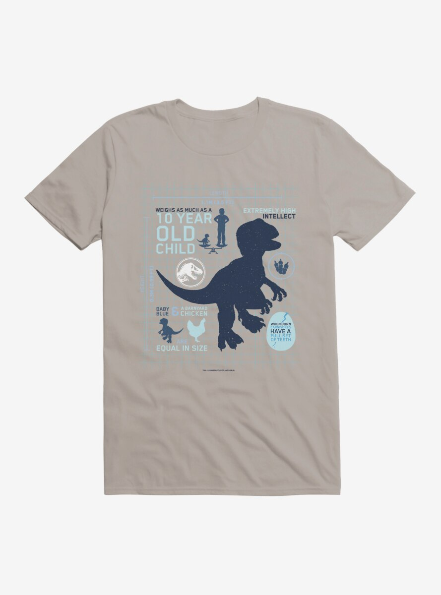 Jurassic World Baby Blue Did You Know T-Shirt