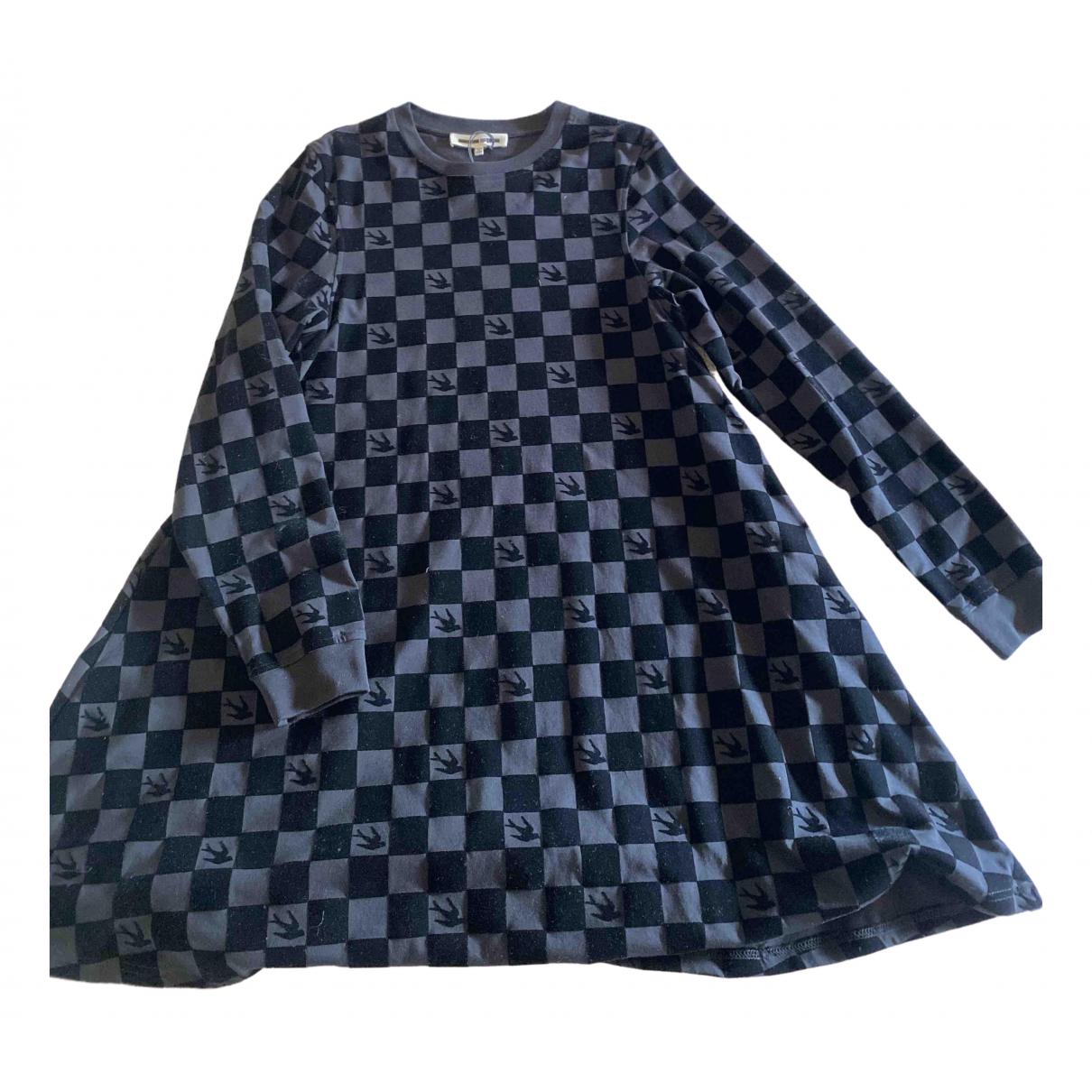 Mcq \N Kleid in  Schwarz Polyester
