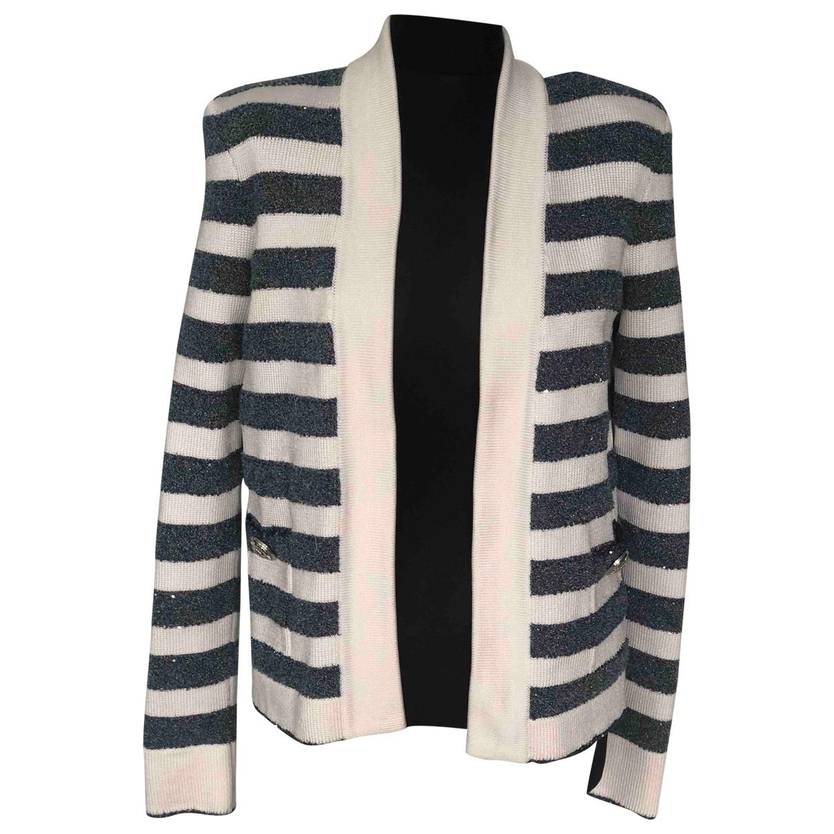 Balmain \N Blue jacket for Women S International