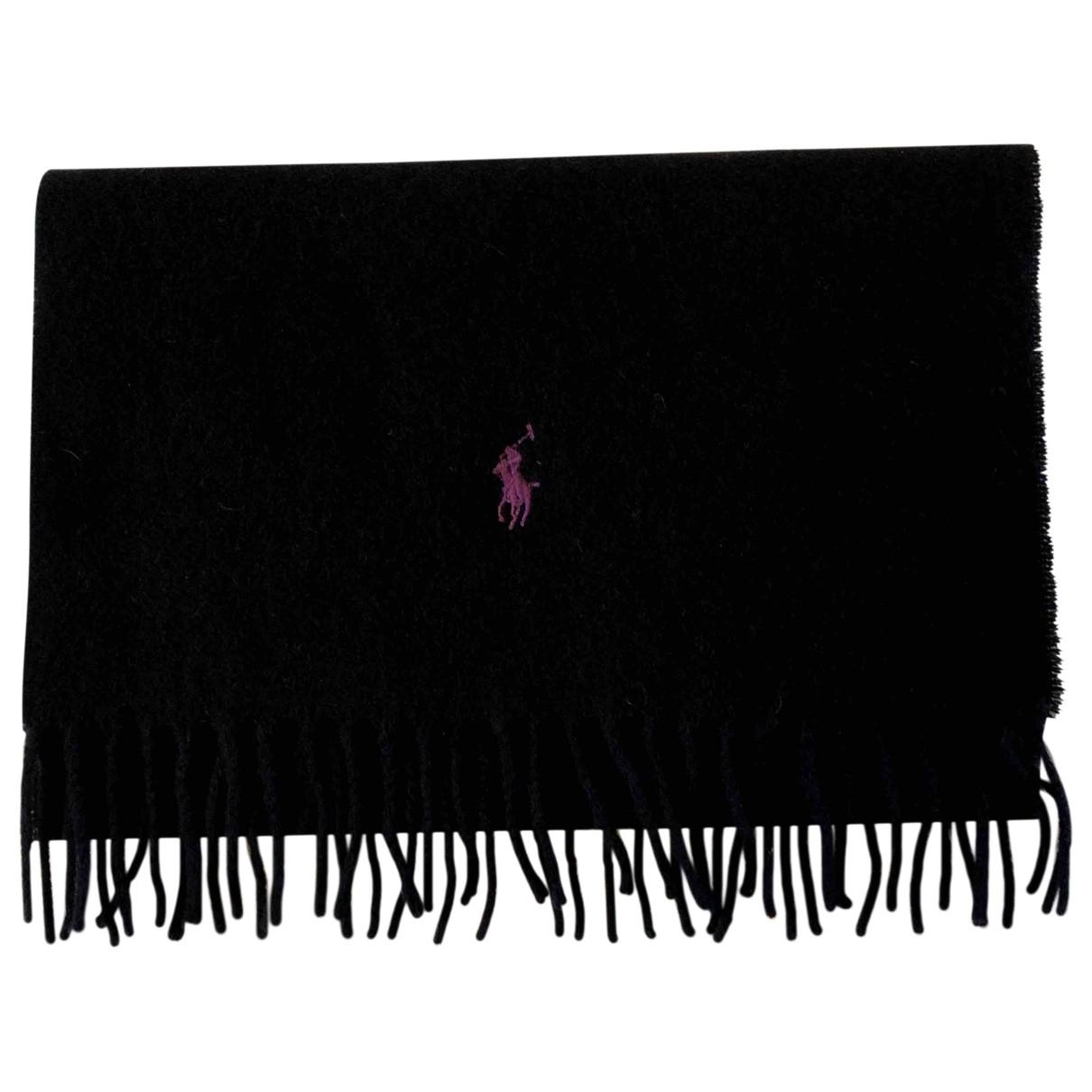 Polo Ralph Lauren \N Tuecher, Schal in  Schwarz Wolle