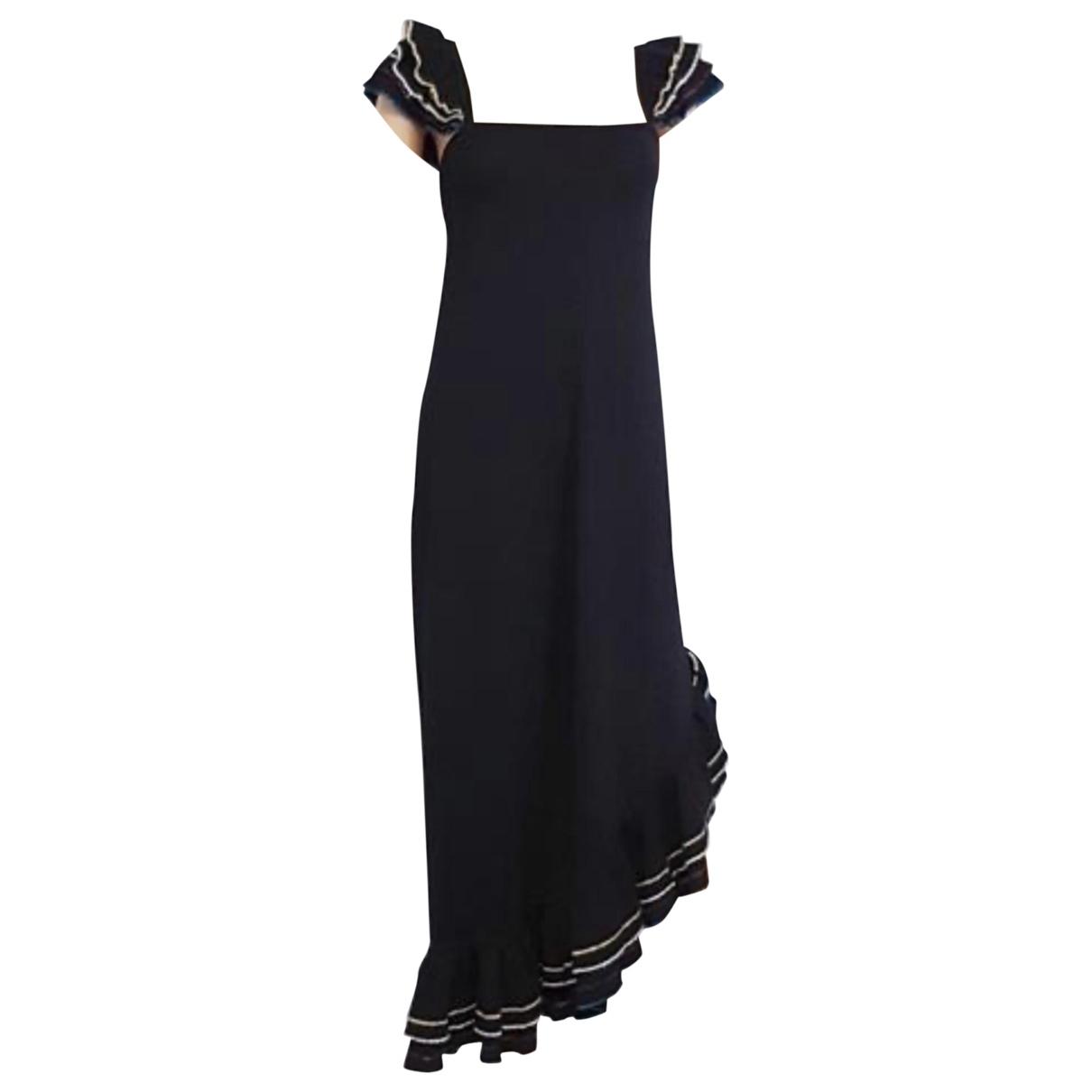 Yves Saint Laurent \N Black Wool dress for Women 36 FR