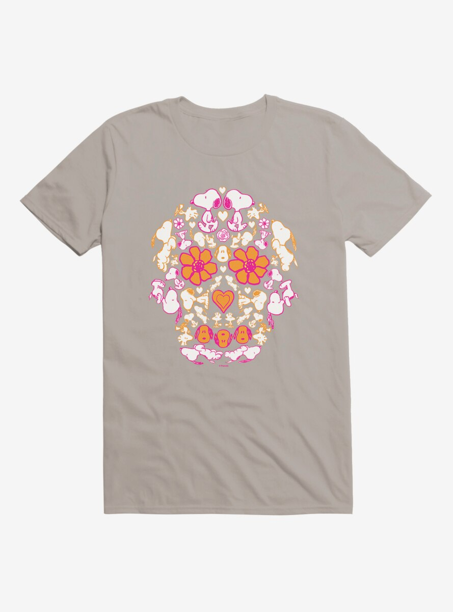 Peanuts Snoopy Day Of The Dead T-Shirt