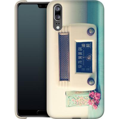 Huawei P20 Smartphone Huelle - Retro Radio von Joy StClaire