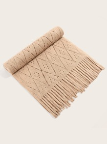 Hollow Out Geometric Scarf