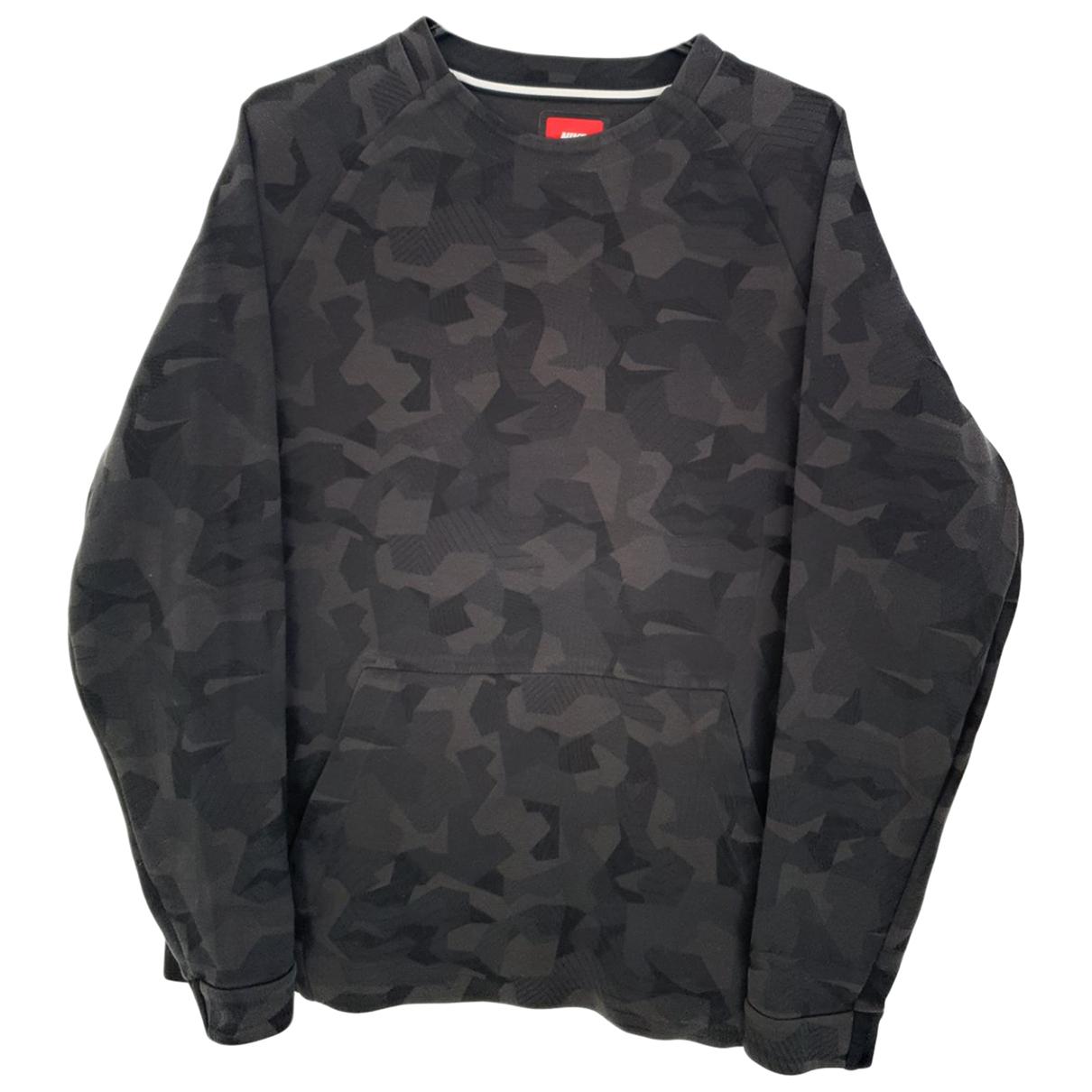 Nike \N Black Cotton Knitwear & Sweatshirts for Men M International