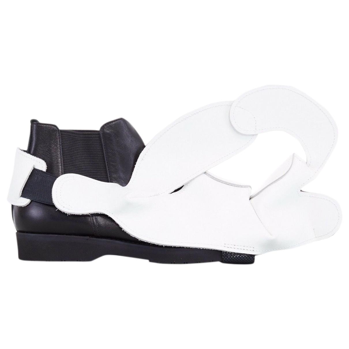 Comme Des Garcons \N Multicolour Leather Ankle boots for Women 34 EU