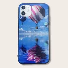 iPhone Huelle mit Heissluftballon Muster