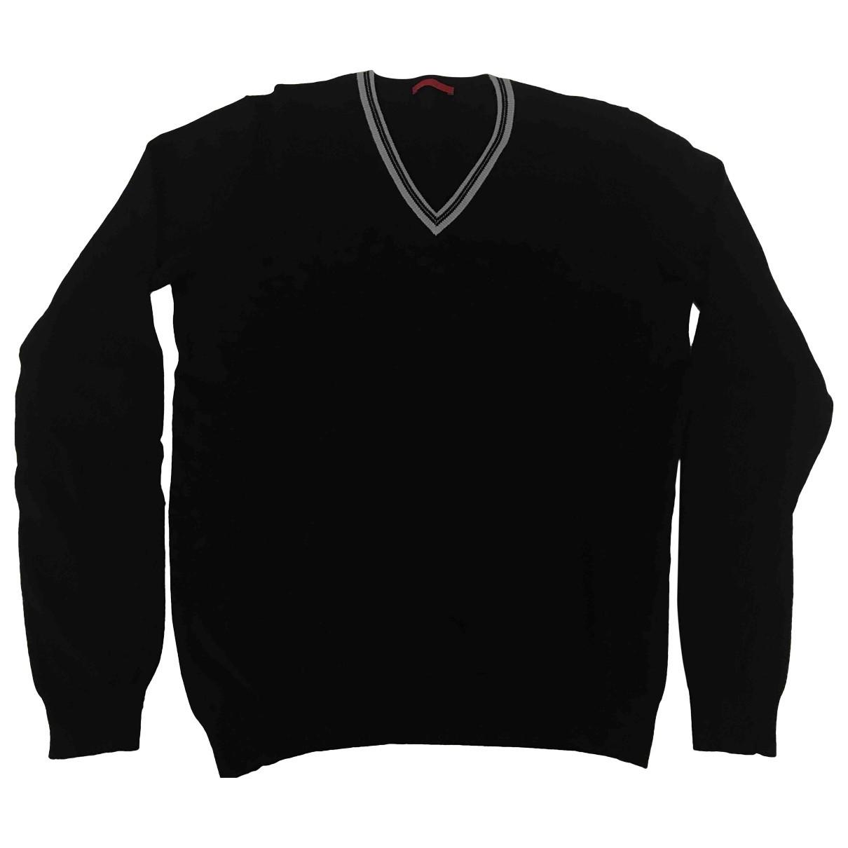 Prada - Pulls.Gilets.Sweats   pour homme en laine - marine