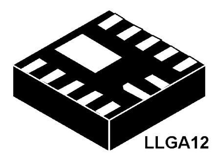 ON Semiconductor NCP5623BMUTBG, LED Driver 3-Segments, 2.7 → 5.5 V, 12-Pin LLGA (5)