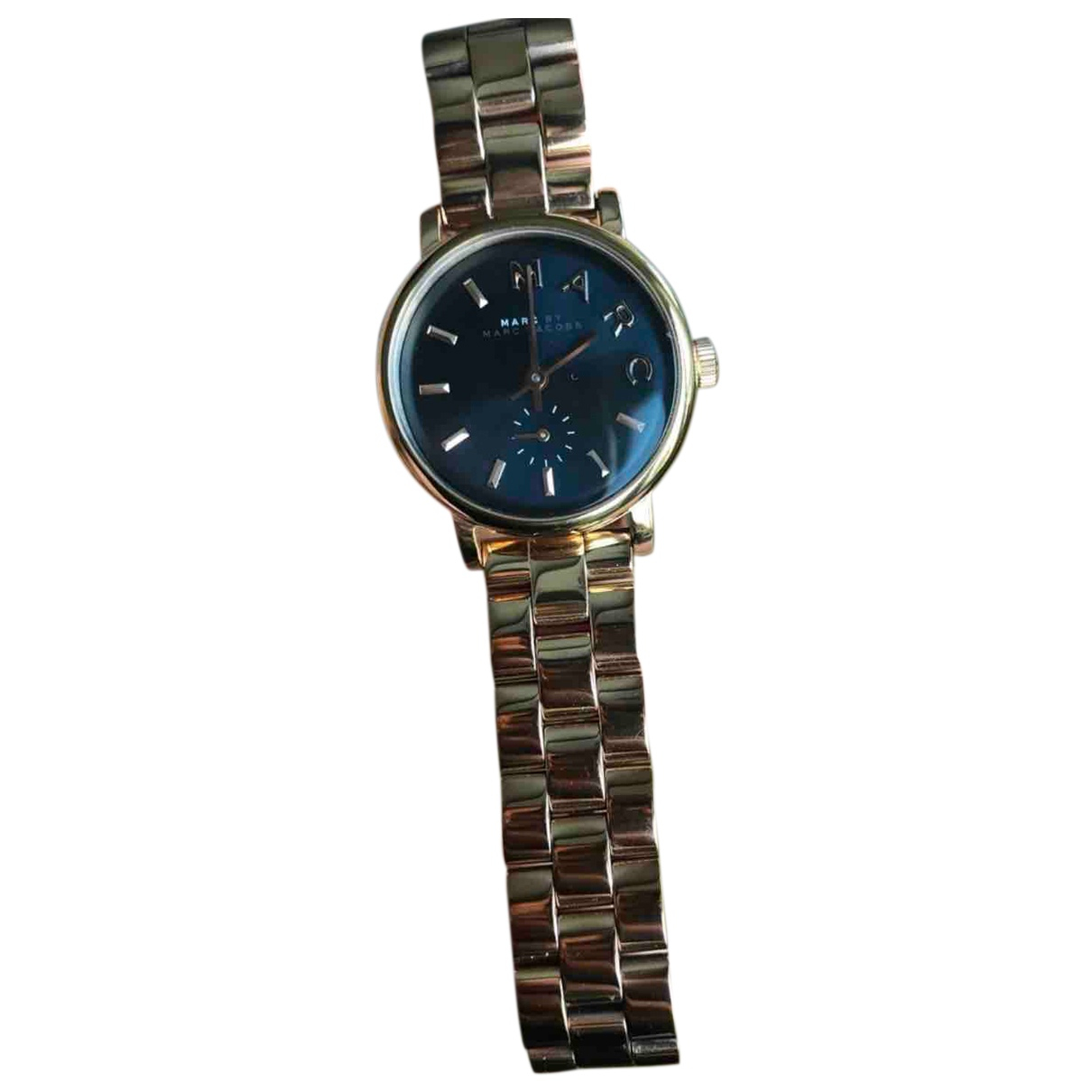 Marc By Marc Jacobs \N Uhr in  Gold Stahl