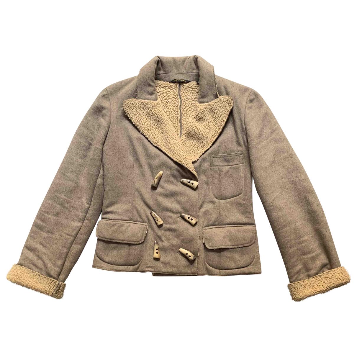 Vivienne Westwood Anglomania - Veste   pour femme en laine - beige