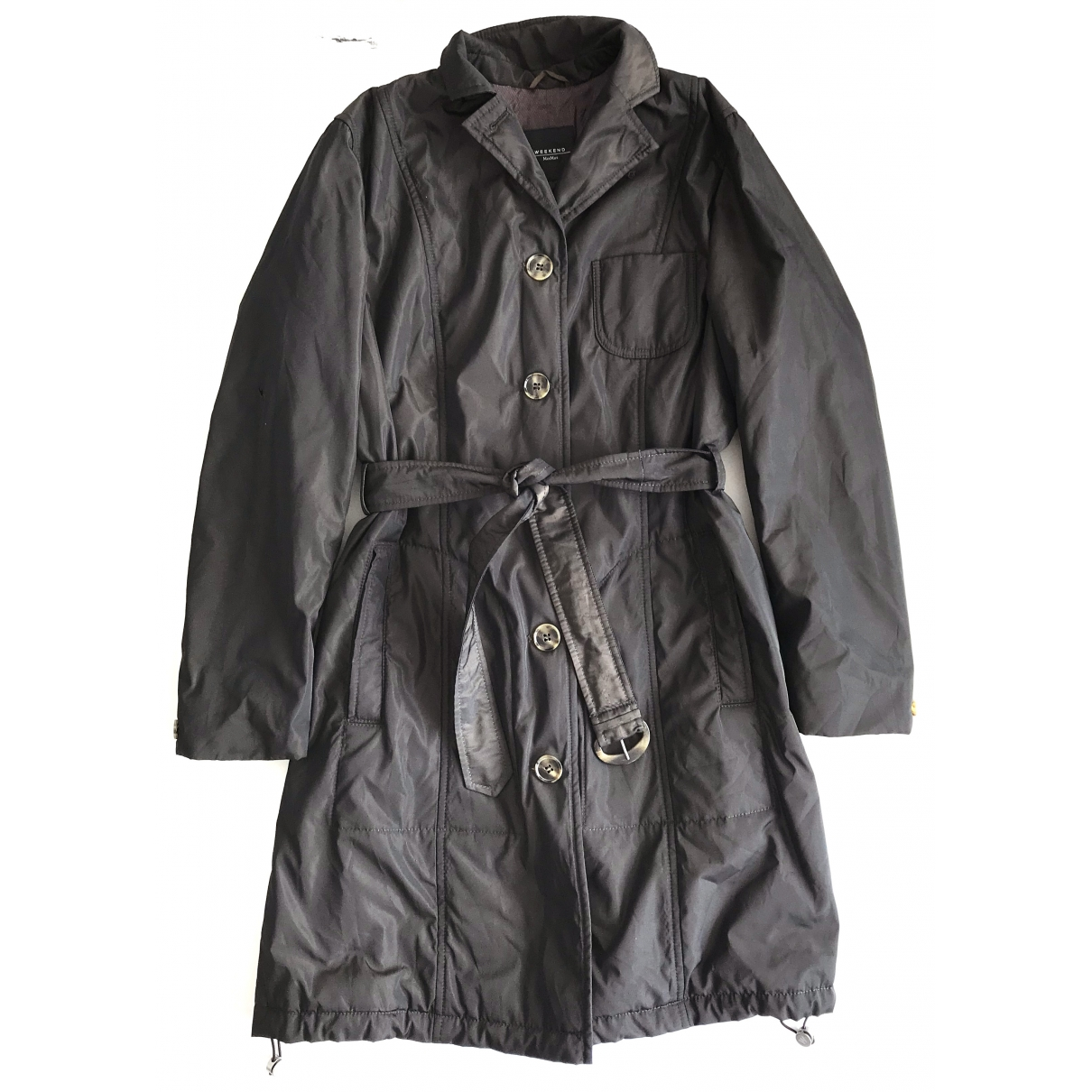 Max Mara \N Trench in  Braun Polyester