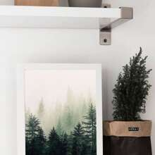 Forest Print Wandmalerei ohne Rahmen