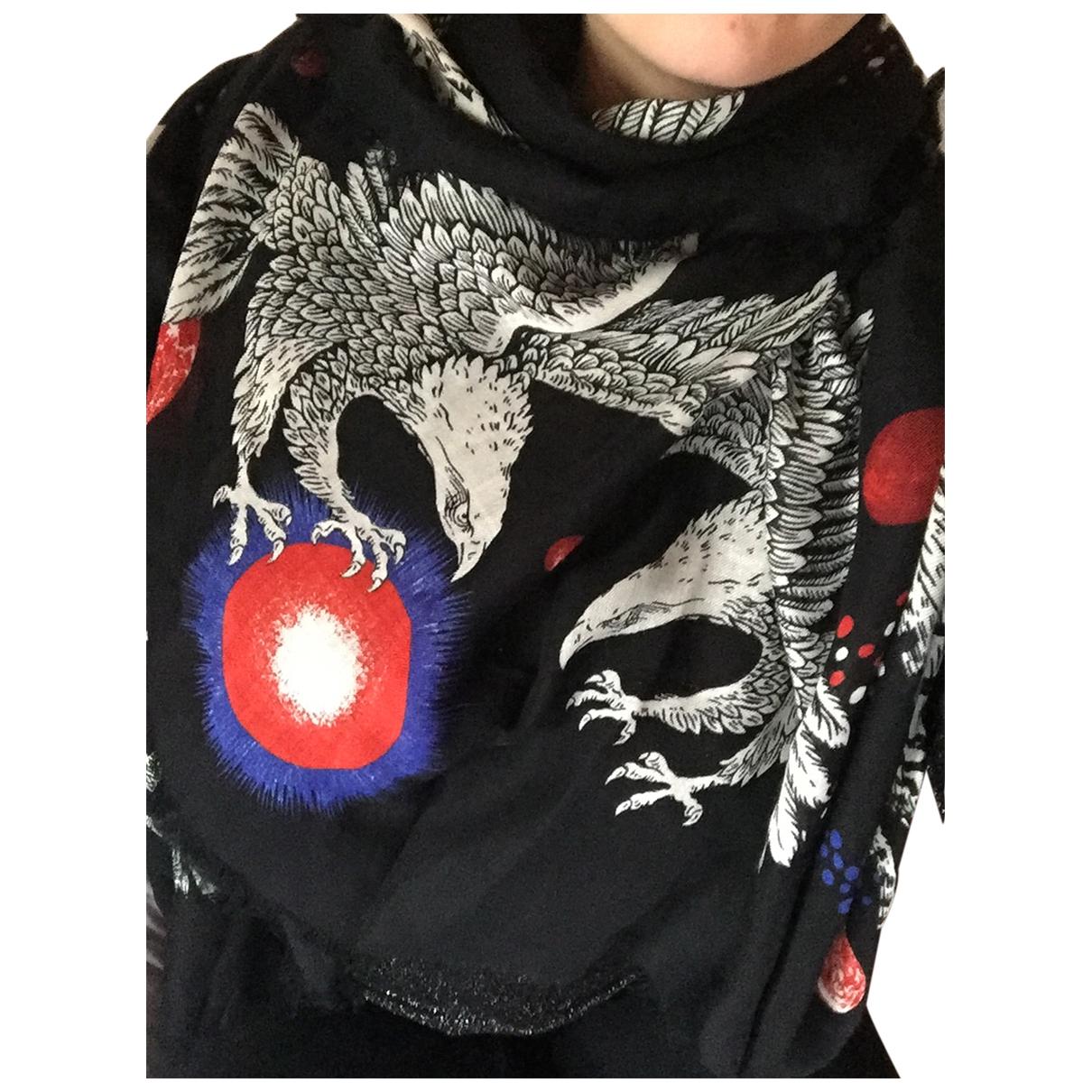 Gucci \N Black Silk scarf for Women \N