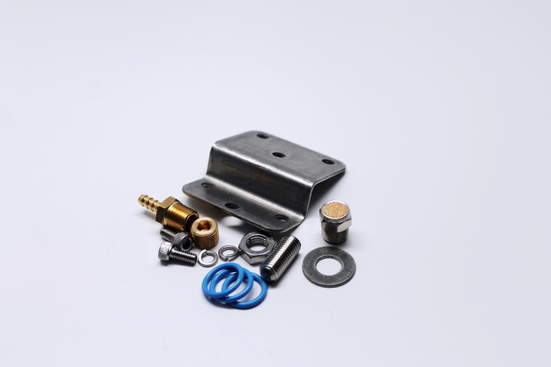 Fuelab 14504 Bracket/Hardware Kit for 555xx Regulator