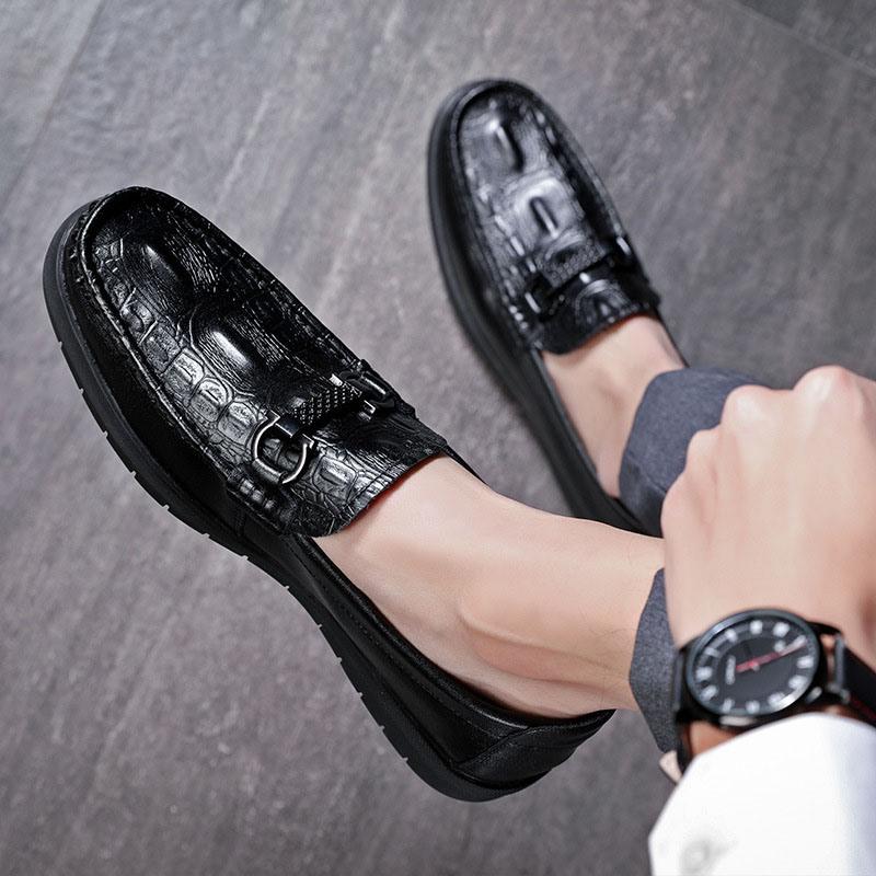Ericdress PU Slip-On Low-Cut Upper Men's Casual Shoes
