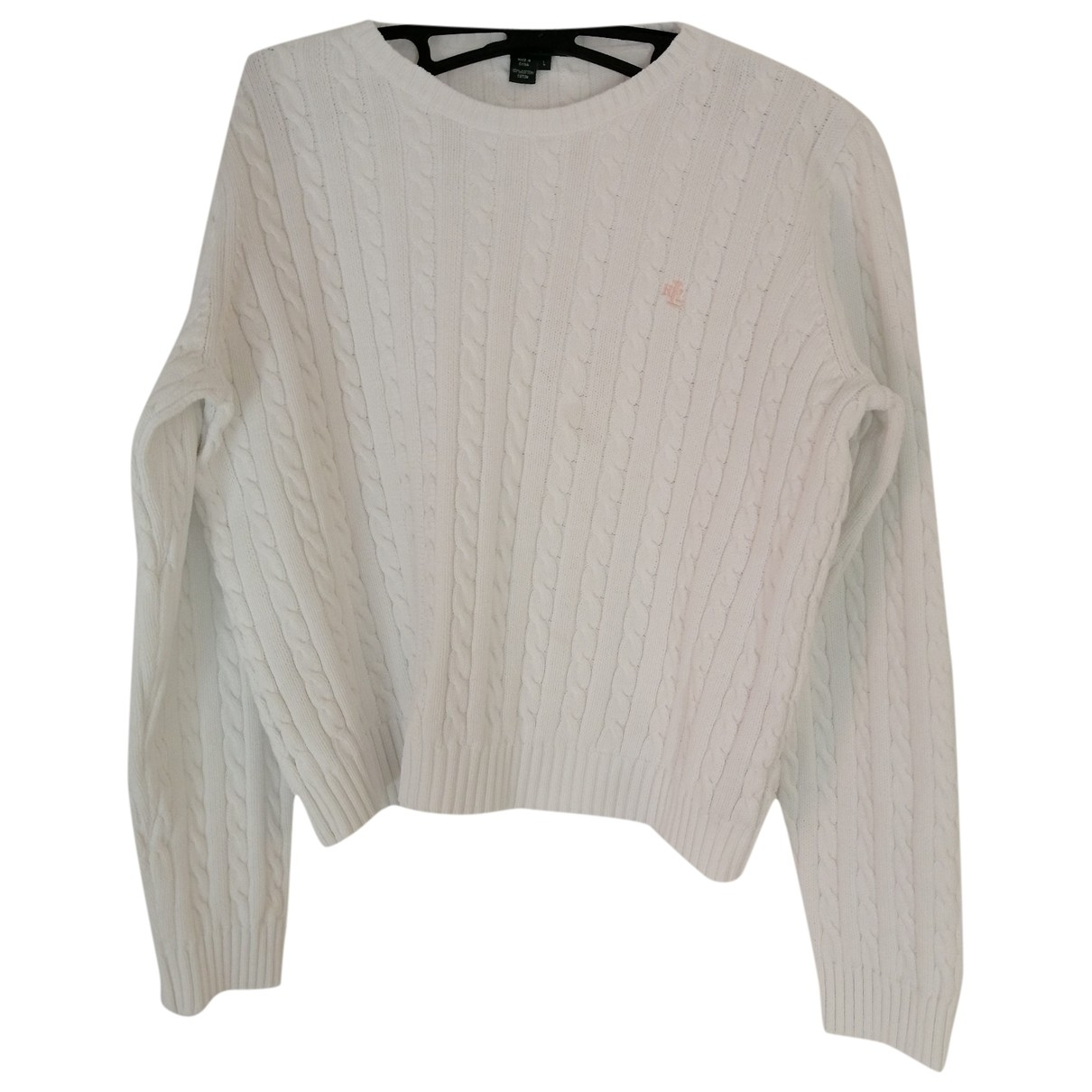 Lauren Ralph Lauren \N White Cotton Knitwear for Women L International