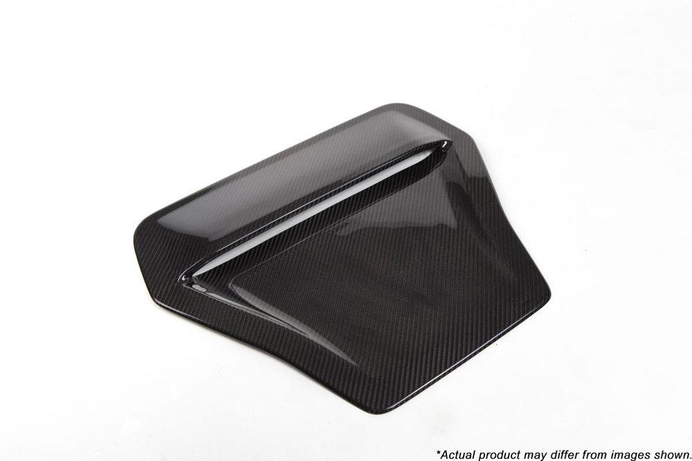 Revel 1TR4GT0AH10 GT Dry Carbon Engine Hood Scoop Cover Honda Civic Type-R 17-18