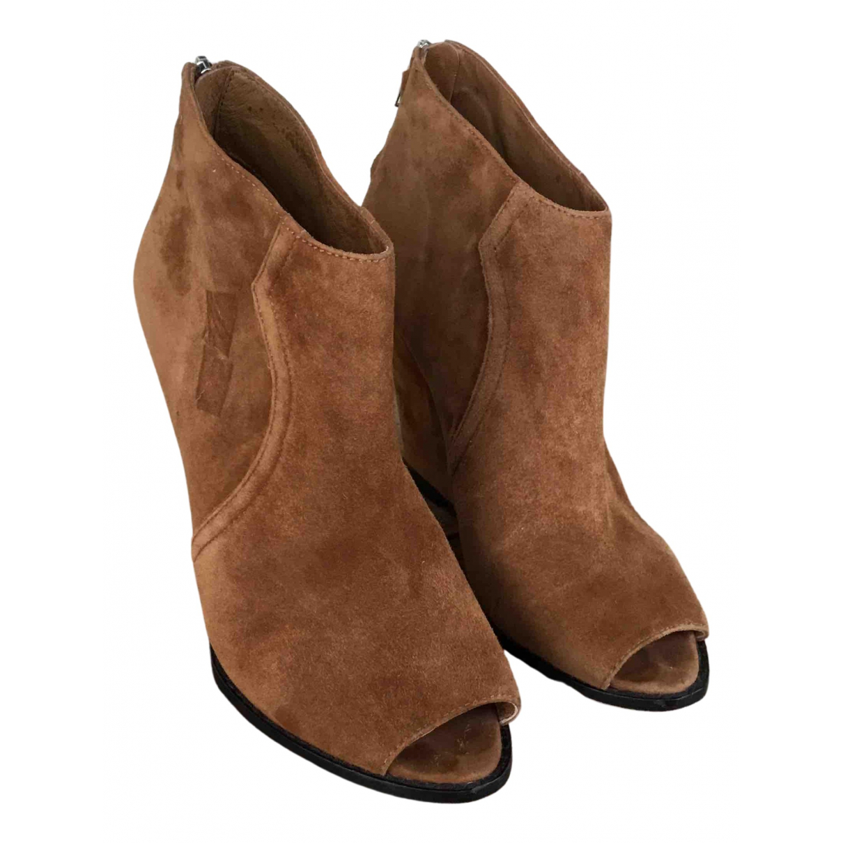Ash N Camel Suede Ankle boots for Women 39 EU