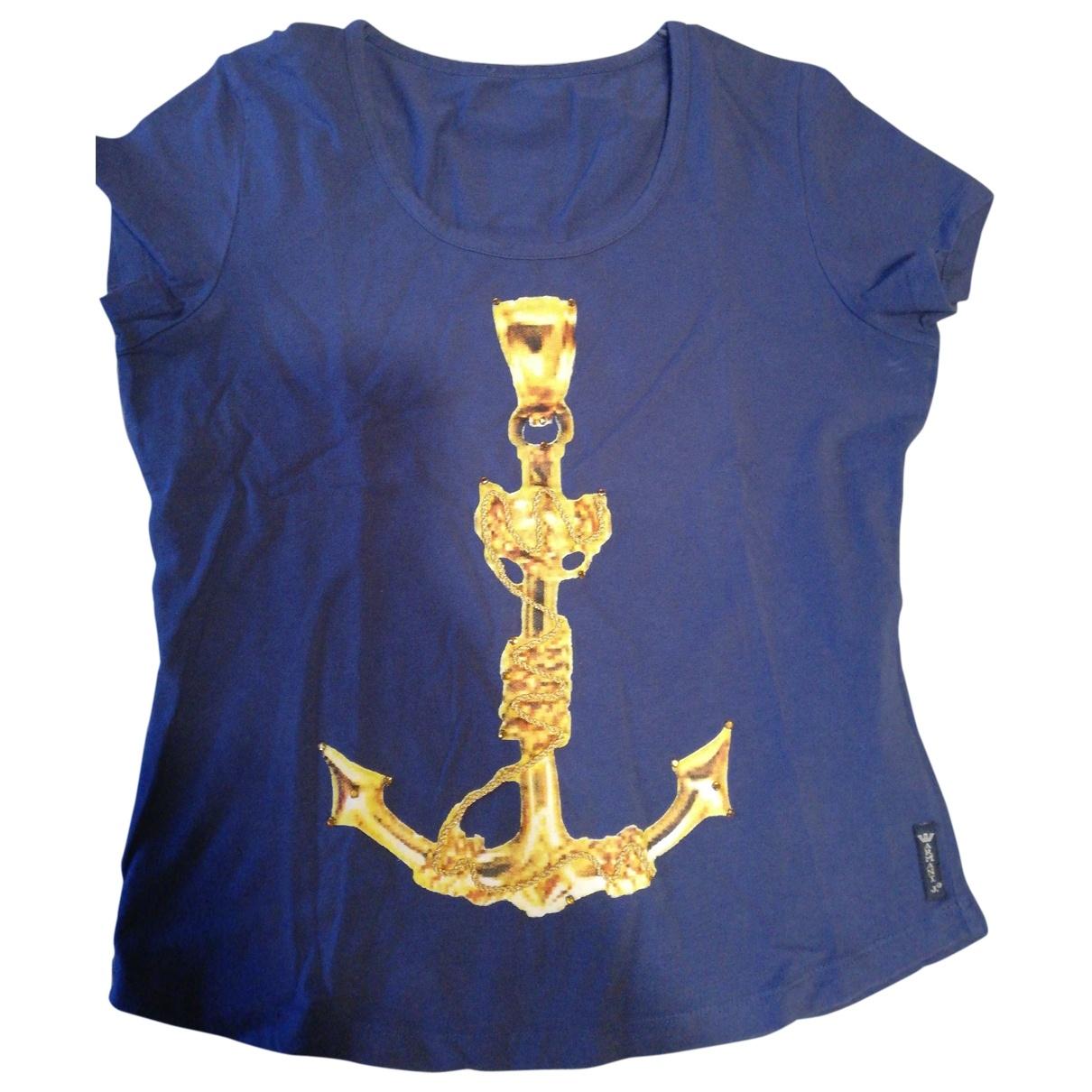 Armani Jeans \N Blue Cotton  top for Women 40 IT