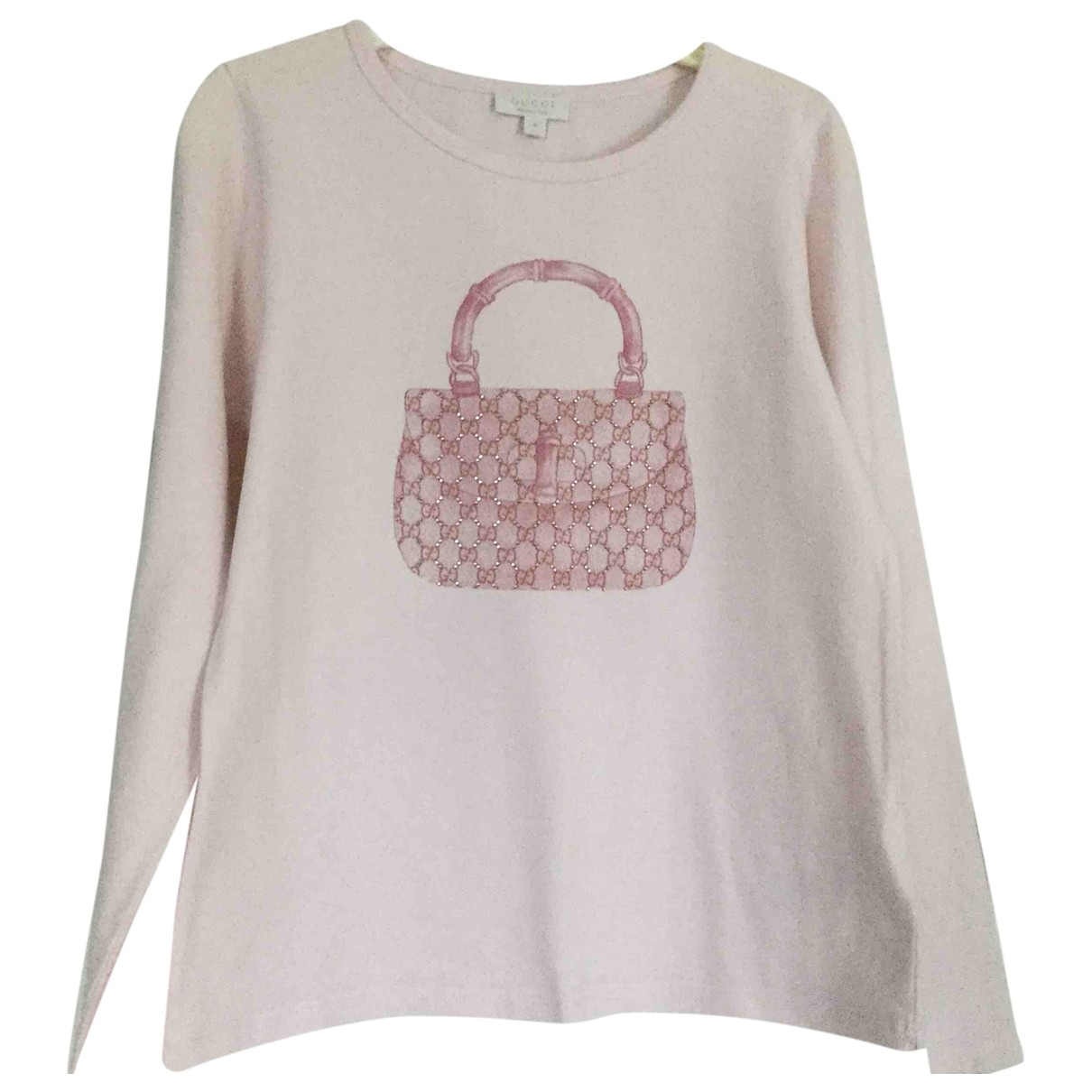 Gucci \N Pink Cotton  top for Kids 8 years - up to 128cm FR
