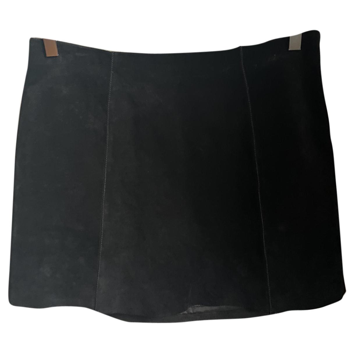 Scoop \N Rocke in  Schwarz Leder