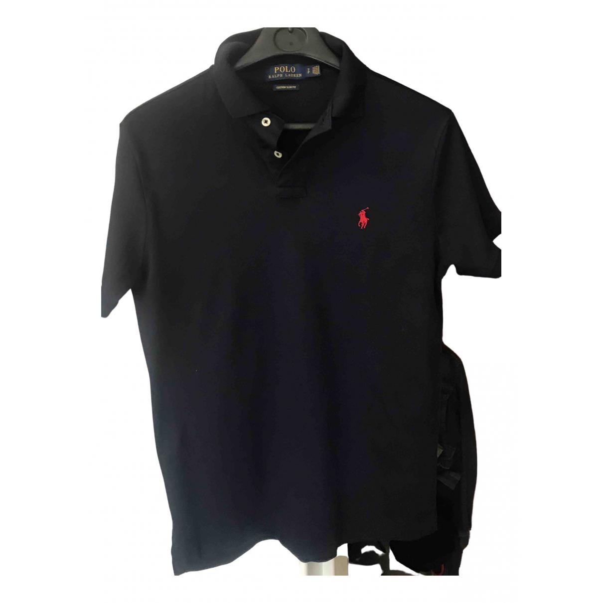 Polo Ralph Lauren \N Poloshirts in  Marine Baumwolle