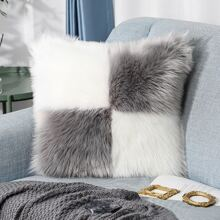 Two Tone Cushion Cover Without Filler