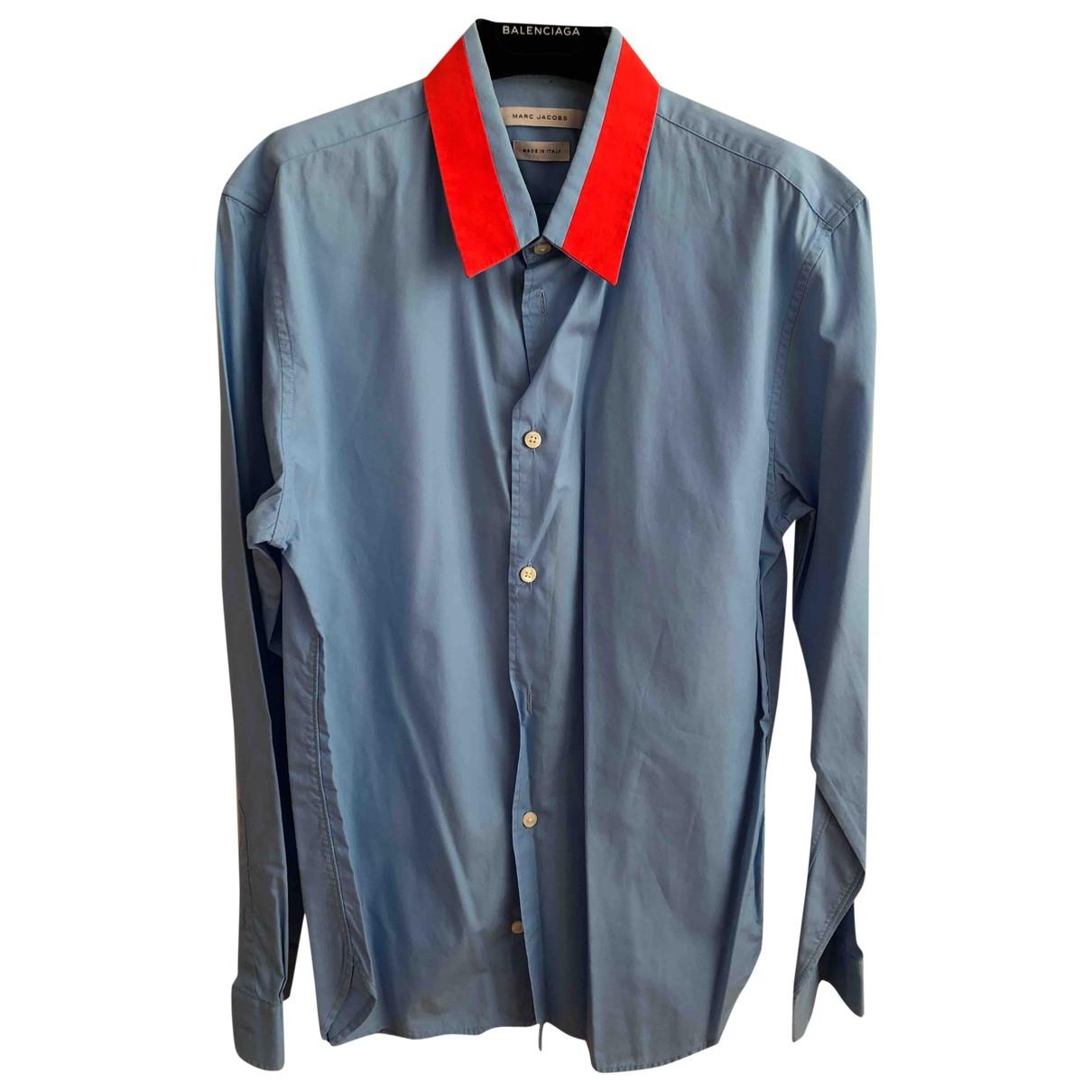 Marc Jacobs - Chemises   pour homme en coton - bleu
