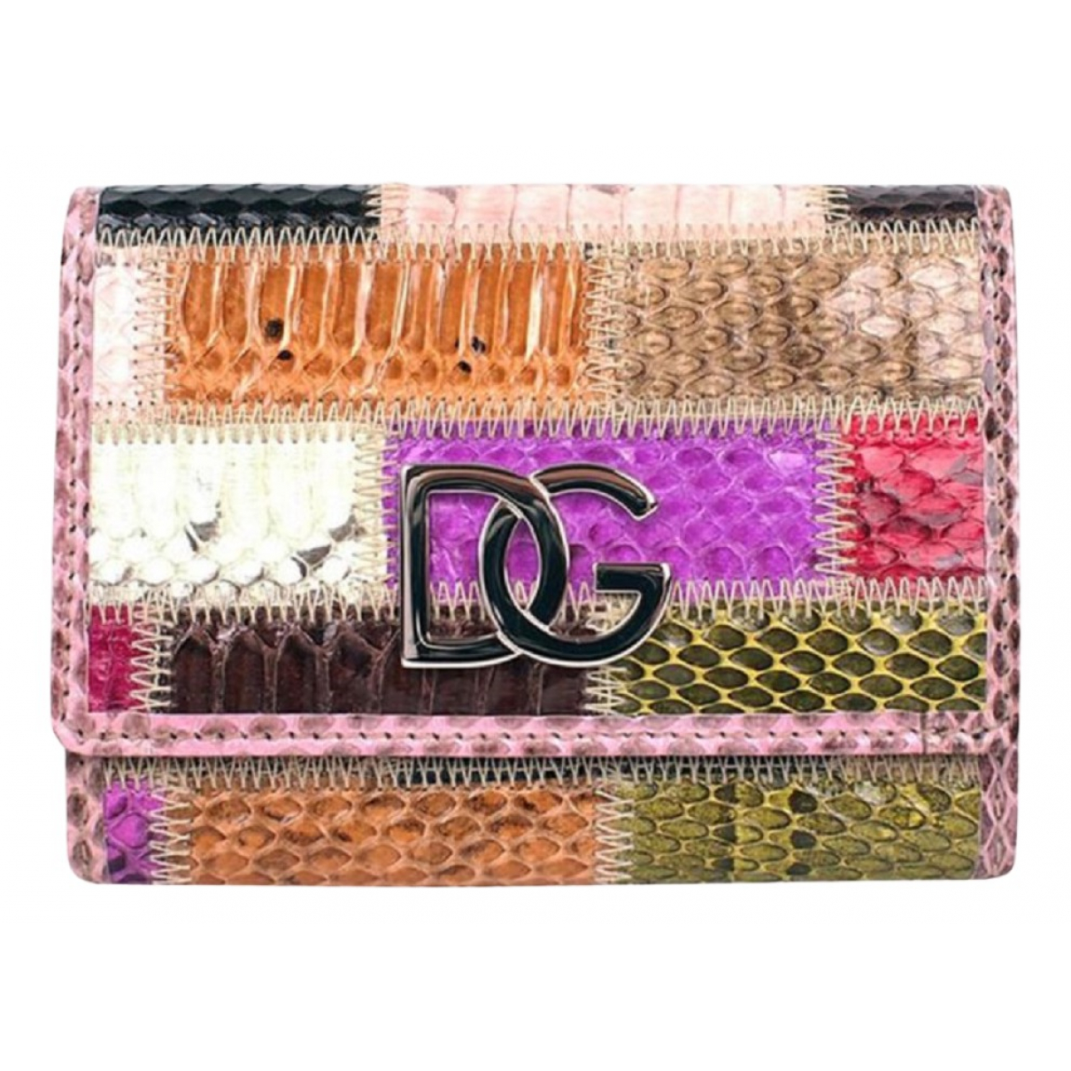 Dolce & Gabbana \N Multicolour Python wallet for Women \N