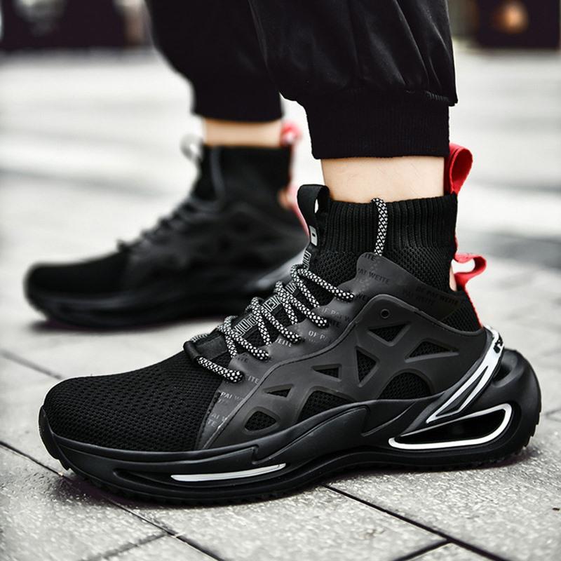 Ericdress High-Cut Upper Sports Men's Mesh Sneakers