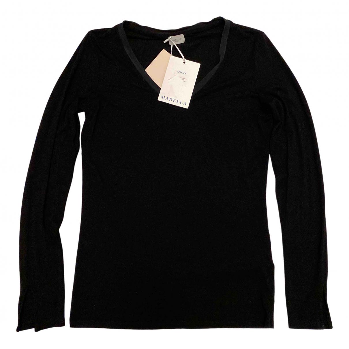 Marella \N Pullover in  Schwarz Viskose