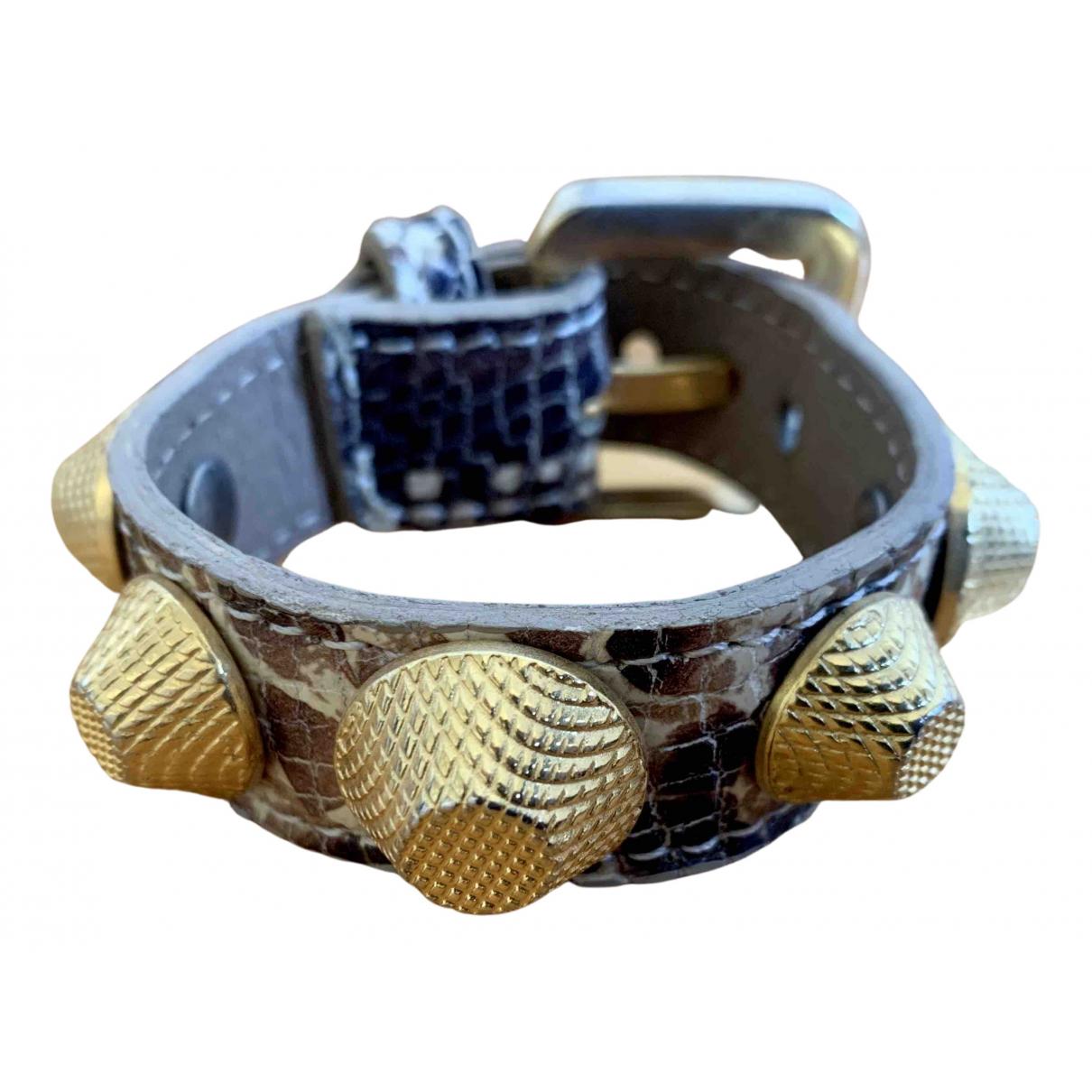 Vita Fede - Bracelet   pour femme en cuir - beige