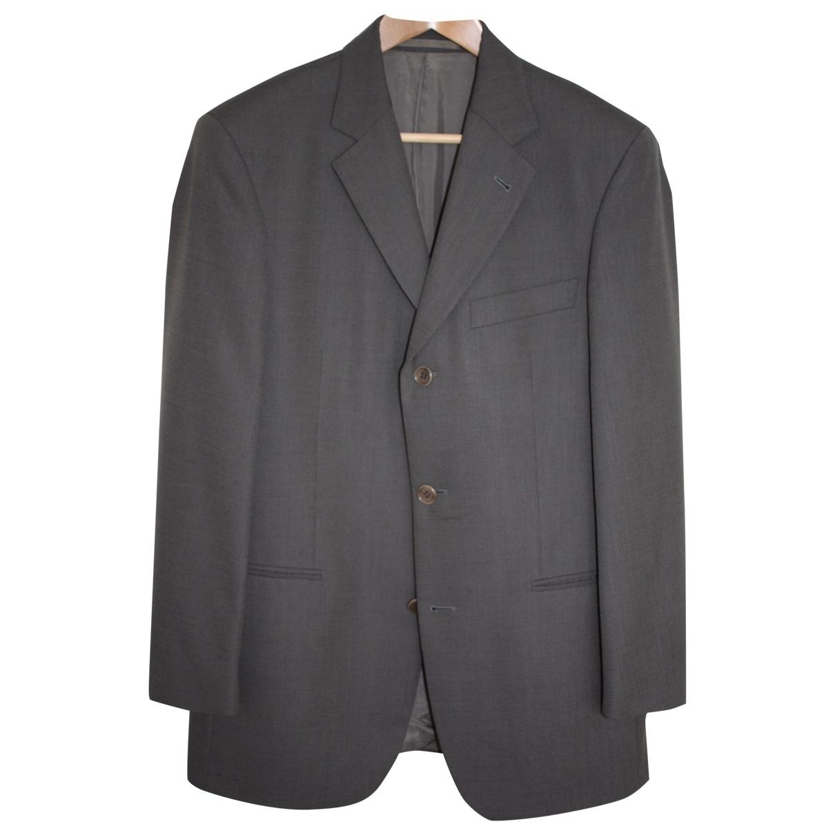 Hugo Boss \N Grey Wool Suits for Men 48 IT