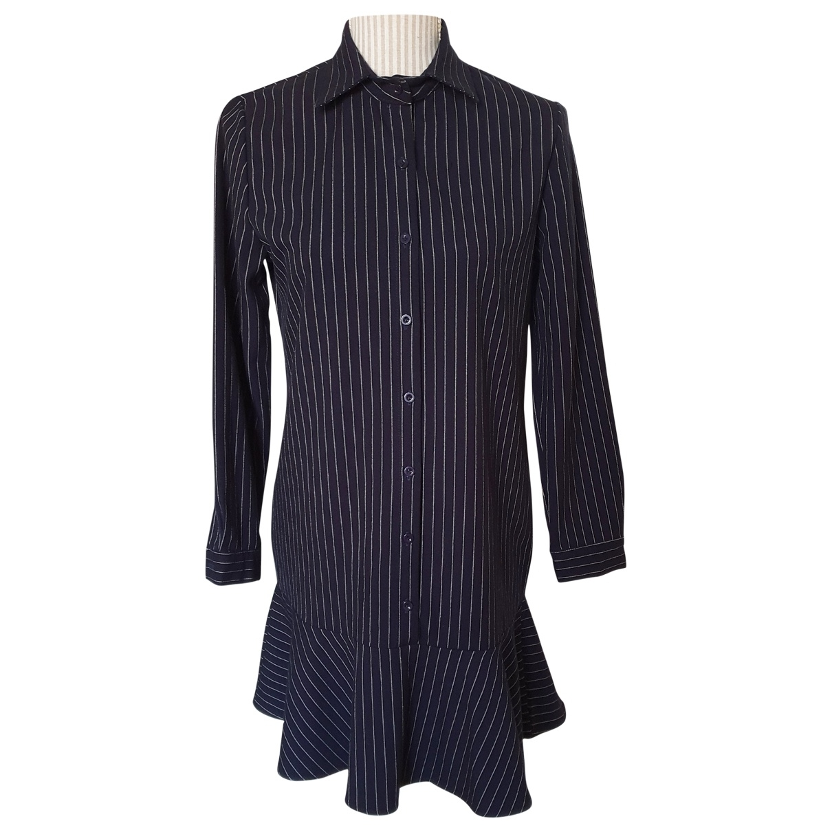 Non Signé / Unsigned \N Navy dress for Women XS International