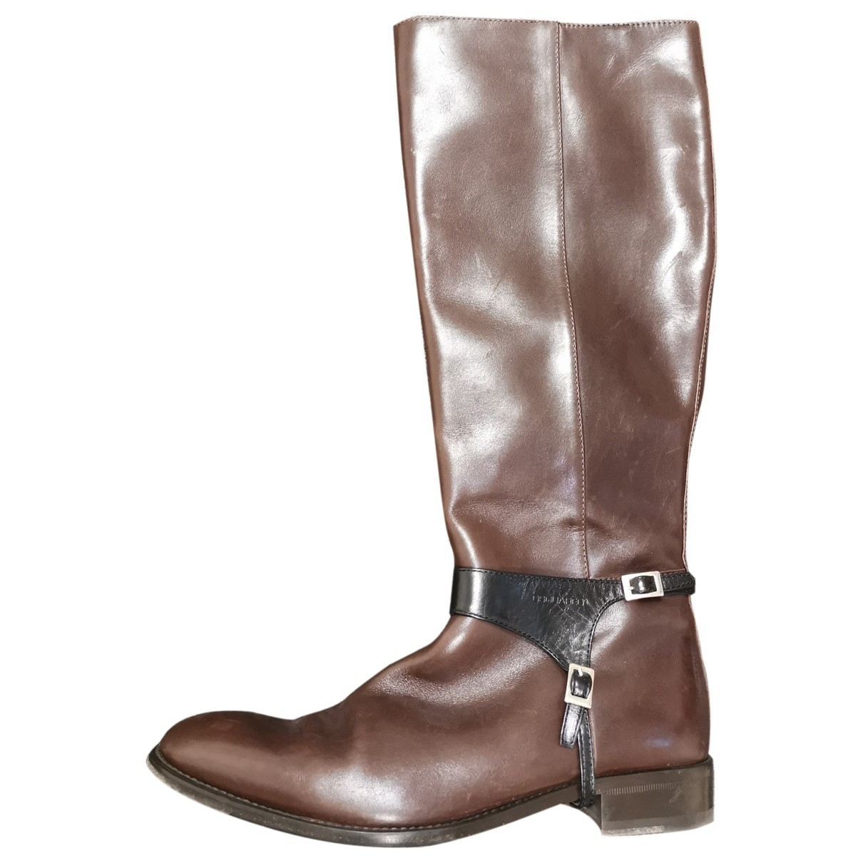 Dsquared2 \N Brown Leather Boots for Women 40 EU