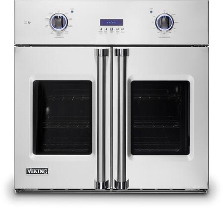 VSOF7301SS 30 Professional 7 Series Stainless Steel French Door Electric Single Wall Oven with 4.7 cu. ft. Capacity  Black Chrome Knobs  Meat Probe