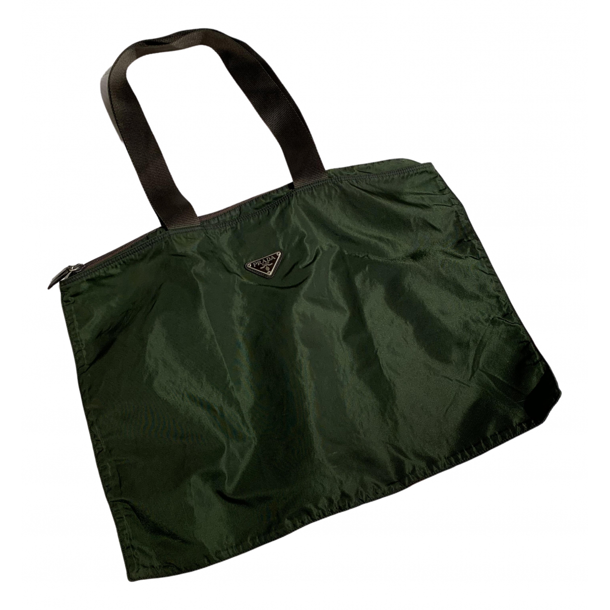 Prada \N Green Cloth handbag for Women \N