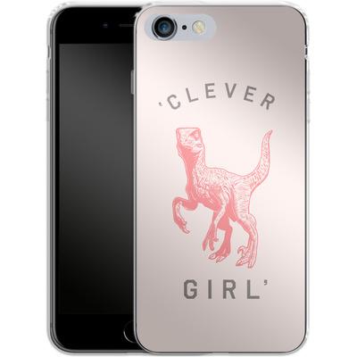 Apple iPhone 6 Plus Silikon Handyhuelle - Clever Girl von Florent Bodart