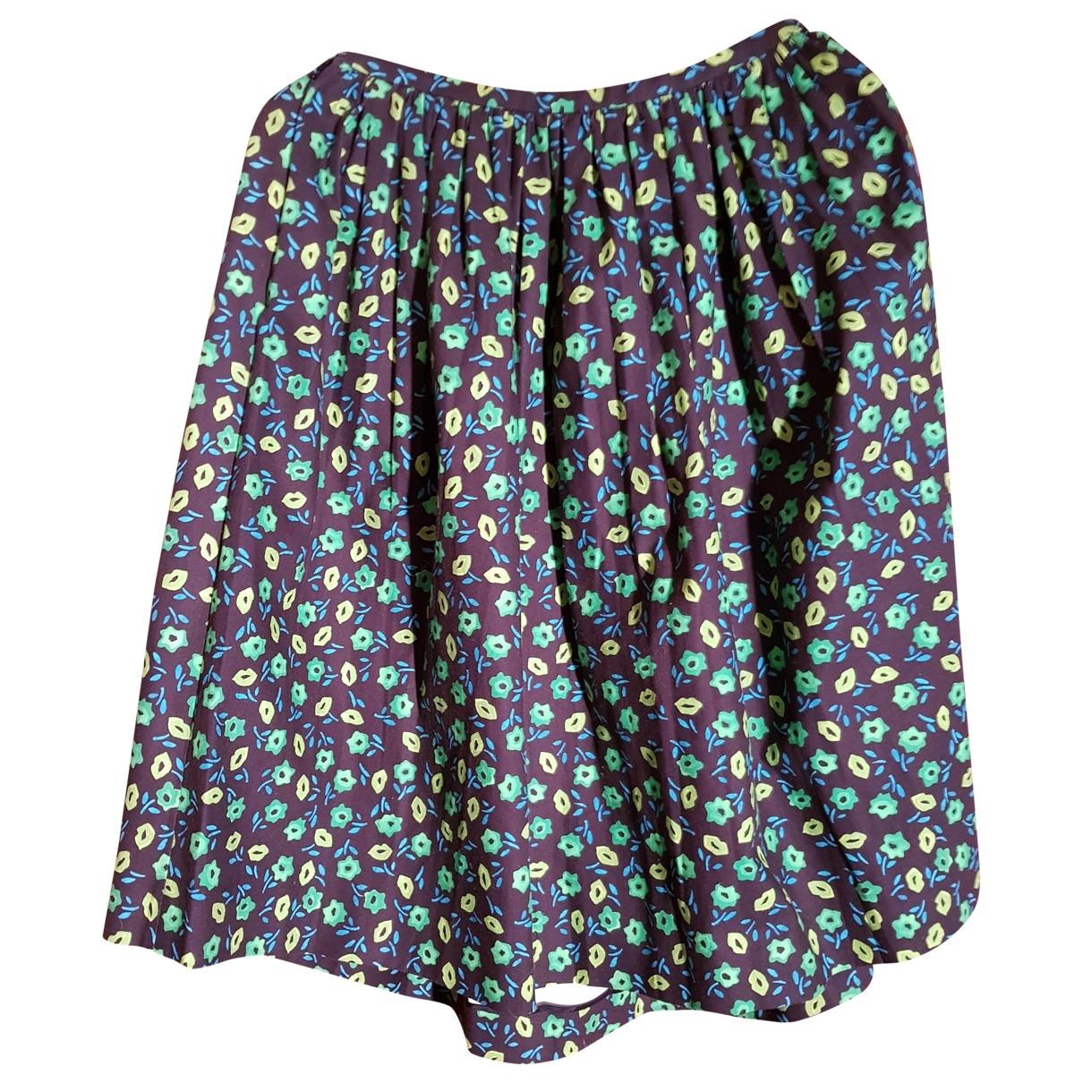 Prada - Jupe   pour femme en coton