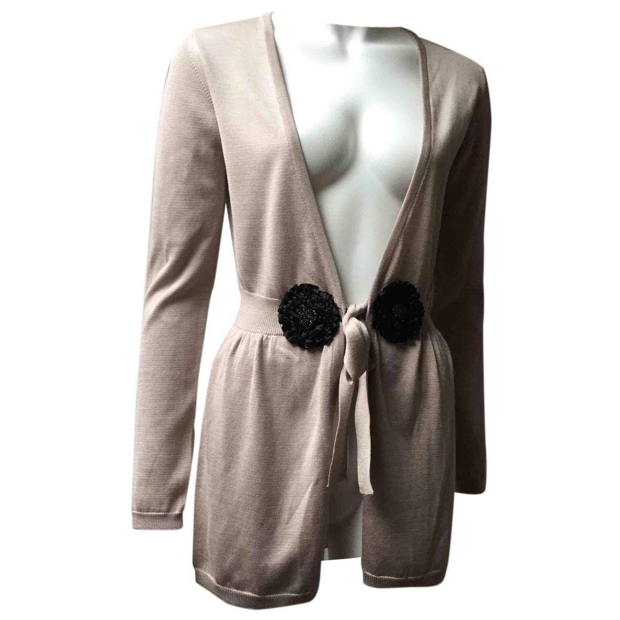 La Perla - Pull   pour femme en soie - beige