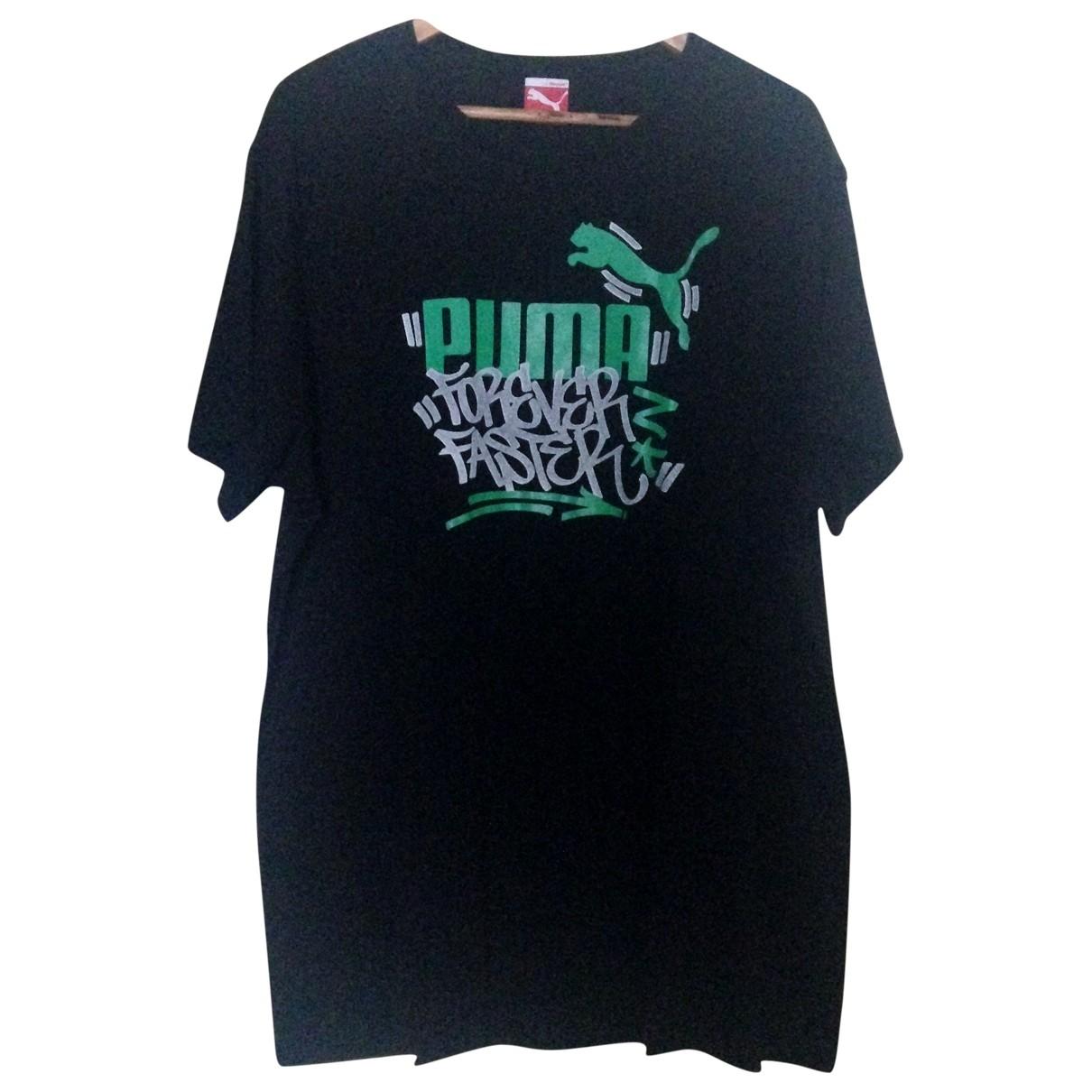 Puma \N Black Cotton T-shirts for Men XXL International