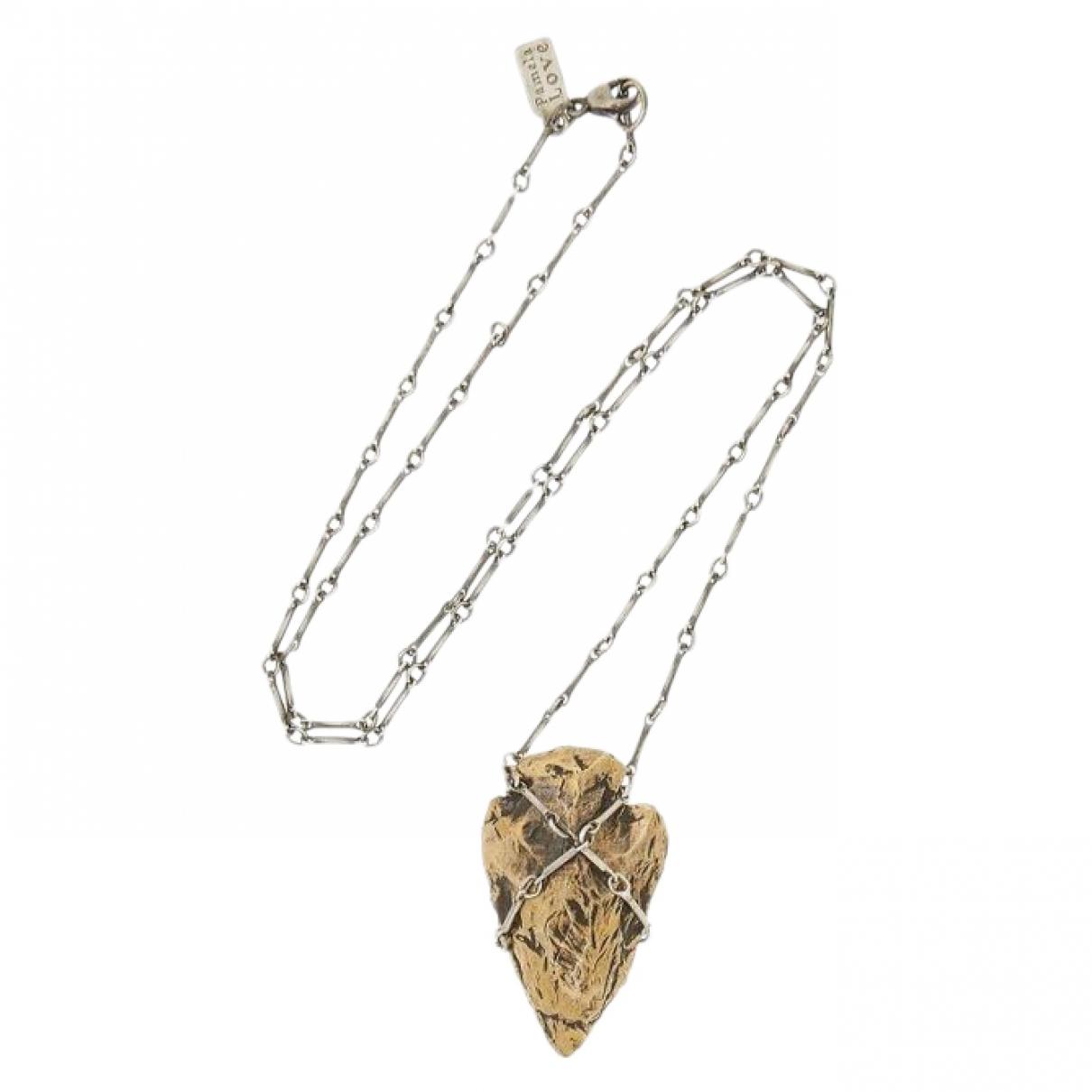 Pamela Love \N Halskette in  Silber Silber