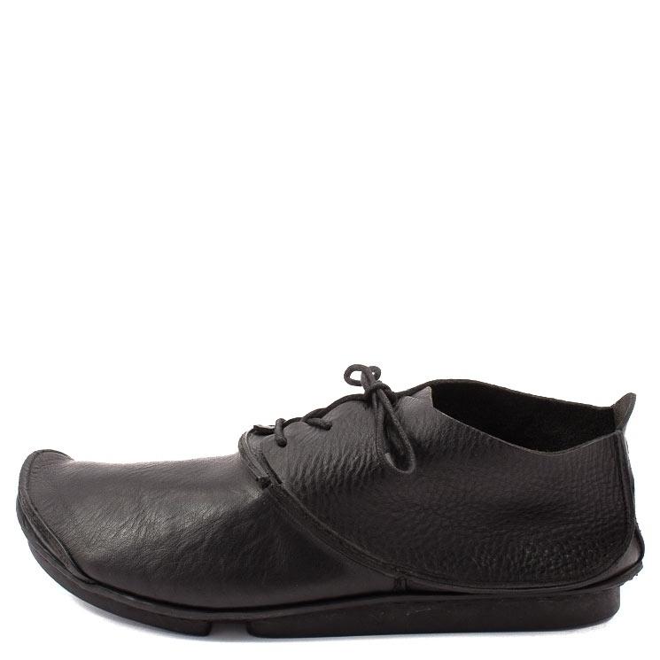 Trippen, Round m Penna  Men's Lace-up Shoes, black Größe 45